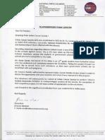 ICS Authorization Letter
