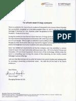 NetMagic Rec Letter