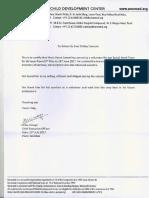 Ummeed Rec Letter