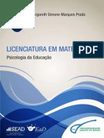 Livro Psicologia da Educação I.pdf