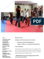 Weekend Class — Shaolin Temple UK