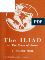 The Iliad or the poem of force
