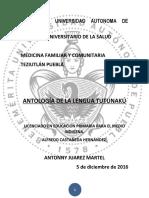 Antologia de la lengua Totonaca