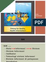 Data, Informasi