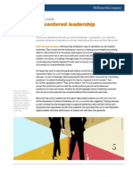 McKinsey- The Value of Centered Leadership