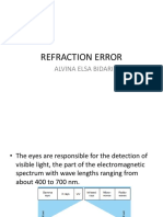 Refraction Error Vina