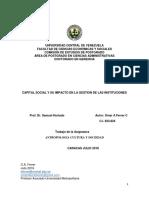 Trabajo Final Asignatura Antropologia Capital Social y Su Impacto en La Gestion de Las Instituciones 15'07