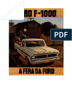 Ford F1000 ano 1979