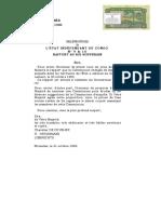 Rapport d' Enquete ordonné par Leopold II