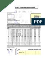 Hoja de Excel Para El Calculo de Columnas Cortas Aci