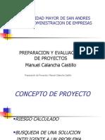 Pre Proyectos