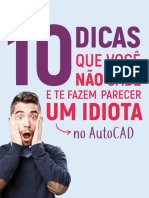 eBook - 10 Dicas CAD!