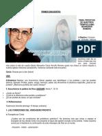 Catequesis de Monseñor Romero