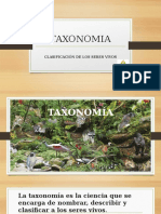 TAXONOMIA
