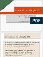 Sociedad y Educación en El Siglo XIX