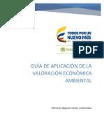 Guia de Aplicacion de La Valoracion Economica Ambiental