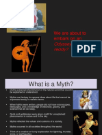 The Odyssey intro powerpoint
