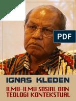 ILMU-ILMU SOSIAL DAN  TEOLOGI KONTEKSTUAL, Oleh IGNAS KLEDEN