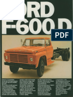 Ford F-600D anos 70