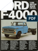 Ford F-4000 anos 70