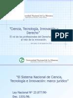 PPT Dr. Frega Jornada Del 31-08-18 UNLAM