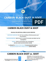 Carbon Black Dust - The Chemtrail Secret for Weather Warfare, Geoengineering, And Ozone Destruction