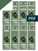 Cracha D30 Modelo