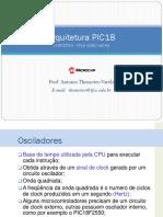 634584-Arquitetura PIC18 (18F2550 ) Osciladores