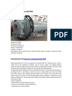 318163507 Calcium Carbonate Ball Mill PDF