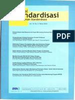 Jurnal Standardisasi Vol 16 No 2 Juli 2014