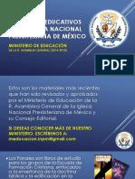 2015 Materiales Educativos de La INPM