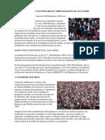 Cual Es La Tasa de Nacionalidad y Mortalidad en El Salvador