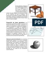Dirección y Proporción de Contornos y Líneas en El Formato