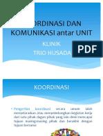 Koordinasi Dan Komunikasi Antar Unit