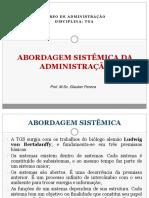 Abordagem Sistêmica e Contingencial Da Administracao Tga