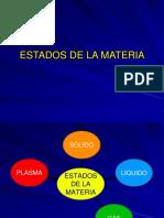 Estados de La Materia quimica
