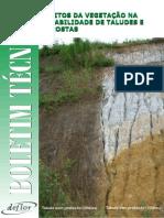 841190 7-Artigo Efeito Da Vegetação Na Estabilidade de Taludes e Encostas