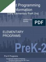 part 2 - district prgramming information