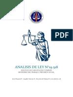 Analisis de Ley 19.518