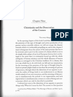 Sherrard • Christianity and the Desecration of the Cosmos