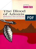 Adonis - The Blood of Adonis