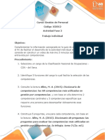 Procedimiento Actividad Indivual - Entrevista Por Competencias
