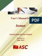 Iteman 4.3 Manual.pdf