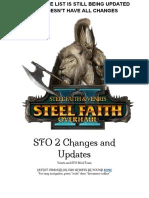 Steel Faith Overhaul II - STILL BEING UPDATED pdf   Infantry