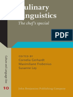 Culinary linguistics