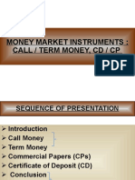 Call Money Presentation