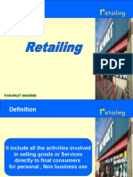 Marketing Retailing