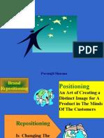 Marketing-brand repositioning