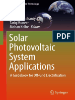 Solar Photovoltaic System Applications Parimita Mohanty p98