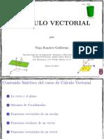 Curso de Calculo Vectorial